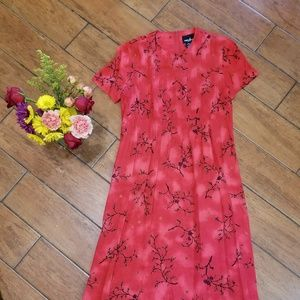 90's vintage midi/maxi dress